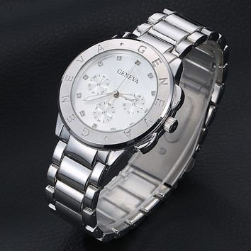 Women's Sleek Watch with 3 Colors