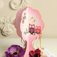 Free Shipping Jewelry Organizer Earring Display - Owllove