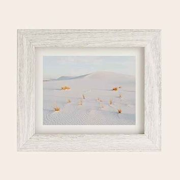Kevin Russ White Sands Art Print