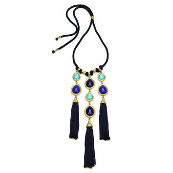 St. Tropez Tassel Necklace