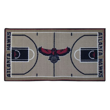 NBA Atlanta Hawks Rug Basketball Runner Carpet