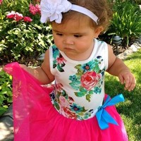 Touch of Sunshine Girls Tutu Dress