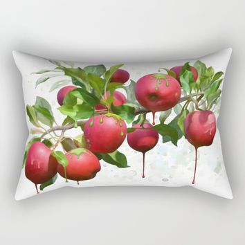 Melting Apples Rectangular Pillow by IvanaW
