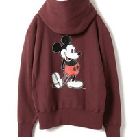 ICIKBA7 Champion x Beams Boy x Disney Hoodie Sweatshirt