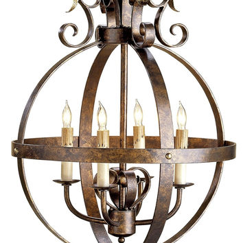 Currey Company Coronation Sphere Chandelier