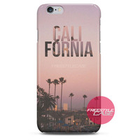 California Palm Trees iPhone Case 3, 4, 5, 6 Cover