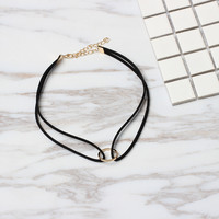Korean Simple Design Double-layered Accessory [9377838471]