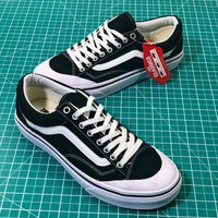 Vans Style 36 Decon Sf Old Skool Black White Sneakers Shoes - Best Online Sale
