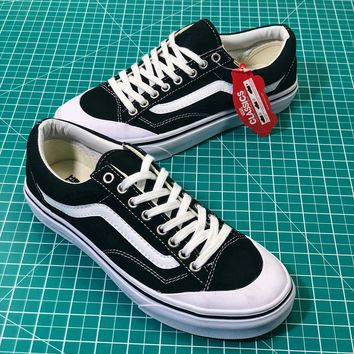 Vans Style 36 Decon Sf Old Skool Black White Sneakers Shoes - Be 10f9f14af15b