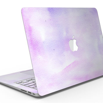 Purple Absorbed Watercolor Texture - MacBook Air Skin Kit