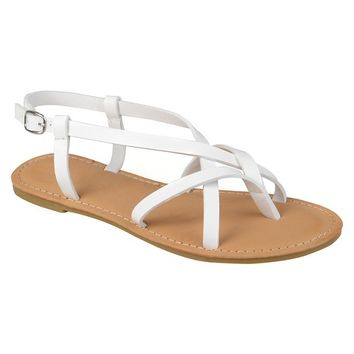 Women's Journee Sequoia Cross Strap Sandals