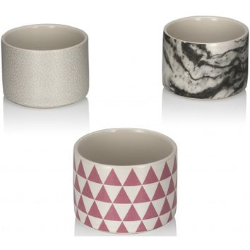 Stacking Cups - Set of 3 Ceramic Stackable Cups - PRE-ORDER, SHIPS EARLY MARCH