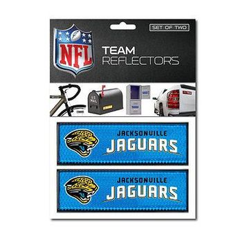 Jacksonville Jaguars Jags Mailbox Auto Bike Car Reflectors Decal Emblem Football
