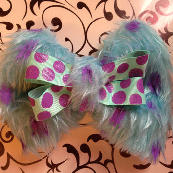 Sully- Disney/Pixar Monsters Inc Inspired Bow
