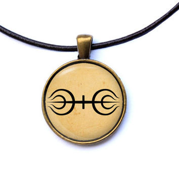 Anime jewelry Naruto necklace Senju Clan pendant