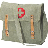 Rothco Vintage Canvas Medic Bag - Olive Drab