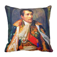 Napoleon King of Italy Throw Pillow