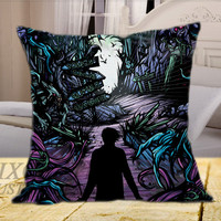A Day To Remember Cover Album on Square Pillow Cover