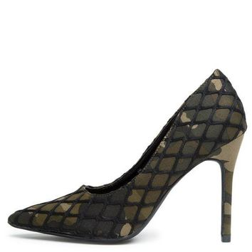Cape Robbin Gigi 52 Camo Women's High Heel
