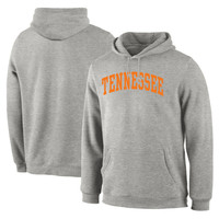 Men's Gray Tennessee Volunteers Basic Arch Pullover Hoodie