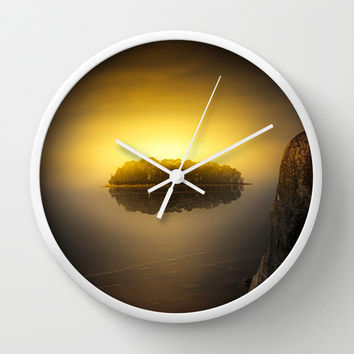 Heat Wall Clock by HappyMelvin