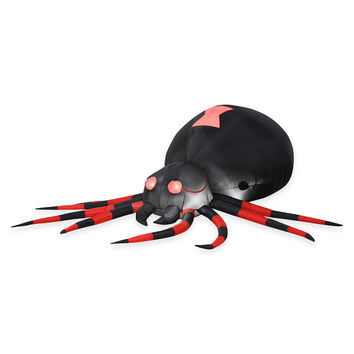 Inflatable Black Spider