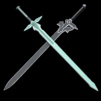 Sword Art Online Cosplay Elucidator and Dark Repulser Swords [Foam]
