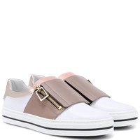 Sneaky Viv' leather slip-on sneakers