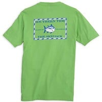 Original Skipjack Tee Shirt in Jasmine Green by Southern Tide