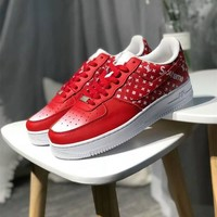 """Nike Air Force 1 x Supreme x Louis Vutitton"" Unisex Casual Fashion Letter Logo Low Plate Shoes Couple Sneakers"