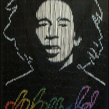Bob Marley Door Beads
