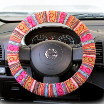 Steering-wheel-cover-wheel-car-accessories-Tribal-Steering-Wheel-Cover-