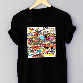 Disney all character - T Shirt for man shirt, woman shirt *NP*