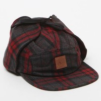 OBEY Clyde Ear Flap Hat - Mens Backpack - Red - One