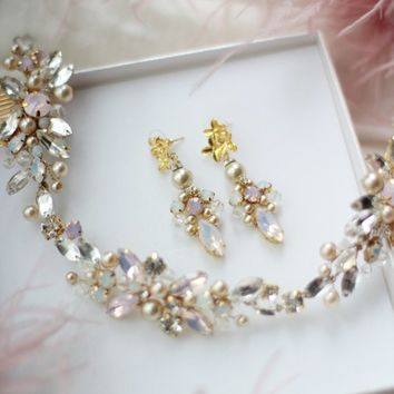 Shop Blush Bridal Jewelry on Wanelo a1af67d52