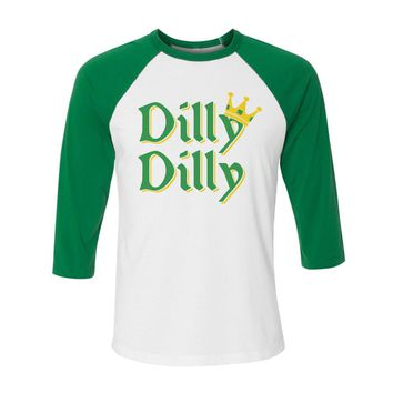 Dilly Dilly King St. Patrick's Day Baseball Shirt