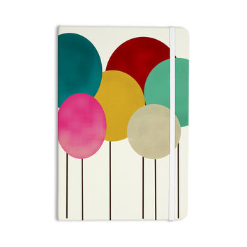 "Bri Buckley ""Celebration"" Rainbow Circles Everything Notebook"