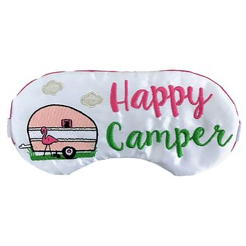 HAPPY CAMPER FLAMINGO & RV SLEEP MASK