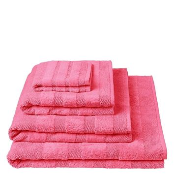 Designers Guild Coniston Cerise Towels