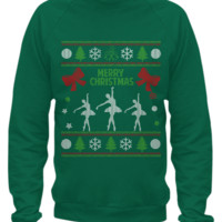 Ballet - Christmas Sweater Printed ballet