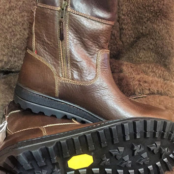 "Trask ""Winslow"" Bison Leather Waterproof side zip boot"