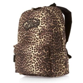 VANS Realm Backpack Book Bag Leopard 372408LD (VN-0NZ00K3)
