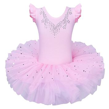 BAOHULU Cute Girls Ballet Dress Tutu Children Girls Dance Clothing Kids Ballet Dress Costumes Girls Dancer Leotards Dance wear