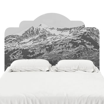 Grindelwald Headboard Decal