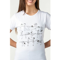 So Danca 055C Child Dina Nina at the Barre T Shirt