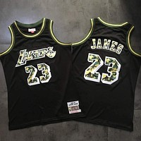 2018-19 Mitchell & Ness 23 LeBron James Swingman Jersey
