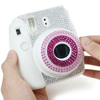 Diamond Camera Sticker for Fujifilm Instax mini 8 - Pink
