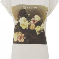 New Order Womens Boyfriend Tee - Ecru - View All - WOMENS | Worn By