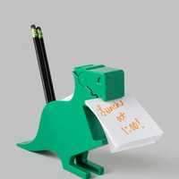 Dinosaur Note and Pencil Holder