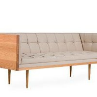 box sofa compact - oak
